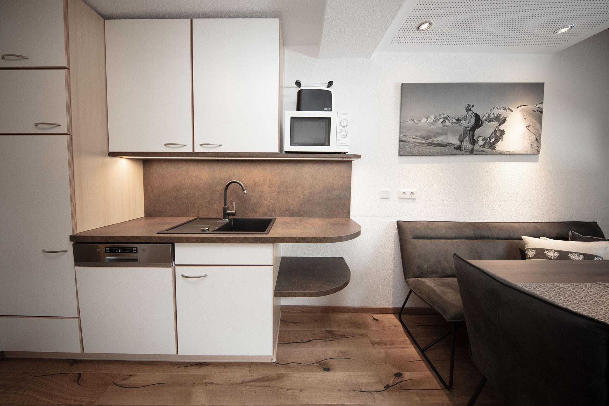 Kueche Appartement 1